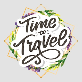 Travel life style inspiration quotes lettering. motivational typography. calligraphy graphic design element. collect moments old ways wont open new doors. lets go explore. every picture tells a story