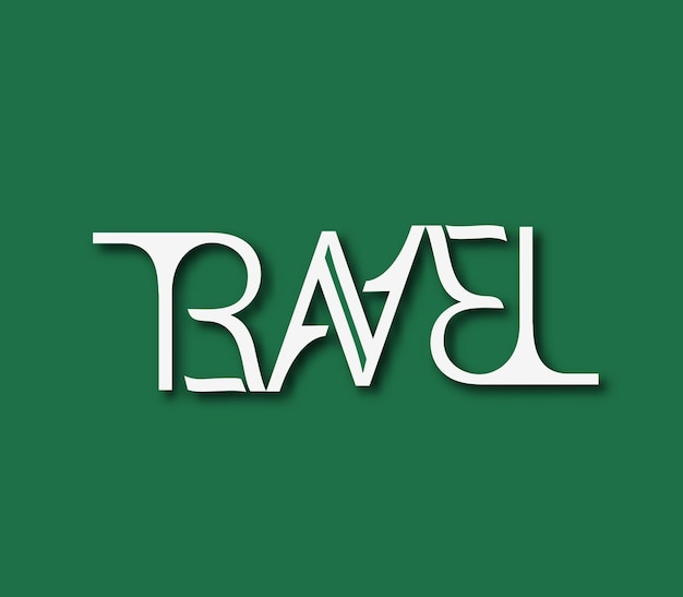 Travel logo element, isolated vector design