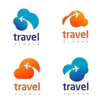 Набор логотипов travel