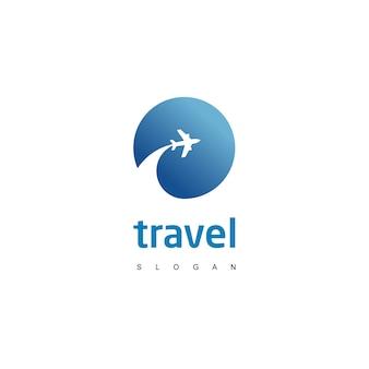 Логотип путешествия Premium векторы