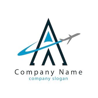 A travel logo