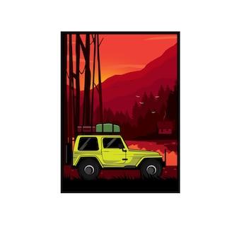 Travel on the mountain