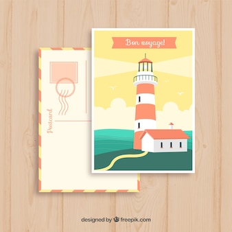 Путешествие открытки с назначением