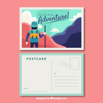 Postcard Vectors Photos And Psd Files Free Download