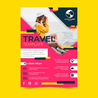 Travel poster design