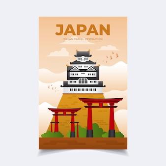 여행 포스터 템플릿