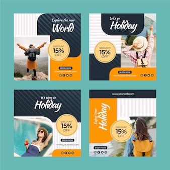 여행 판매 인스 타 그램 게시물 수집