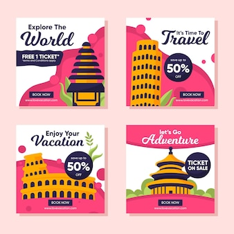 여행 판매 instagram 게시물 모음