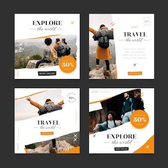 Travel sale instagram posts