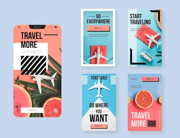 Коллекция рассказов о путешествиях в instagram