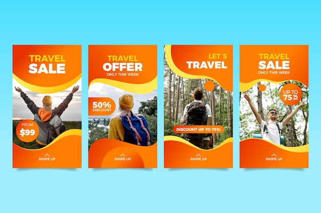 여행 판매 인스 타 그램 스토리 컬렉션