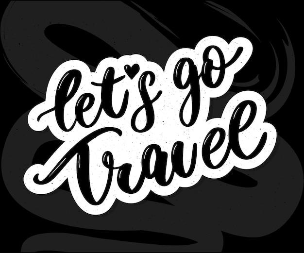 Travel set icons.