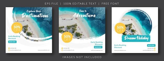 Реклама в социальных сетях о путешествиях