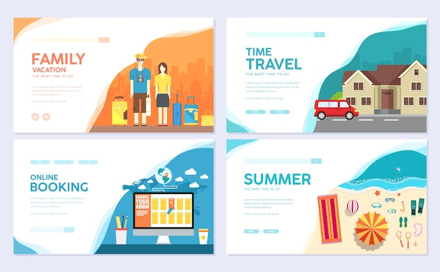 Travel template of flyear, magazines, posters, book cover, banners.summer vacation trip infographic.