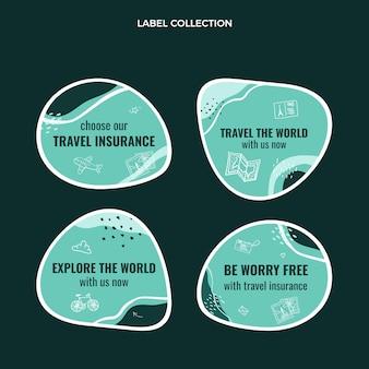 세계 레이블 컬렉션 여행