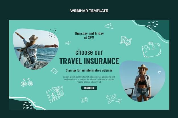 세계 여행 웹 세미나 템플릿