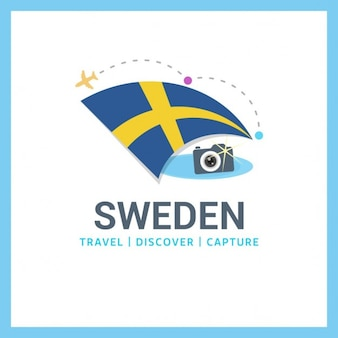 Швеция путешествия logo