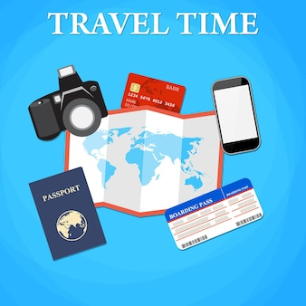 Travel and tourism concept.