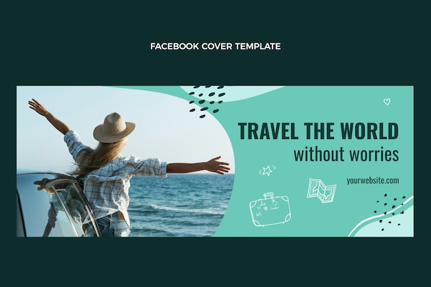 Travel the world facebook cover