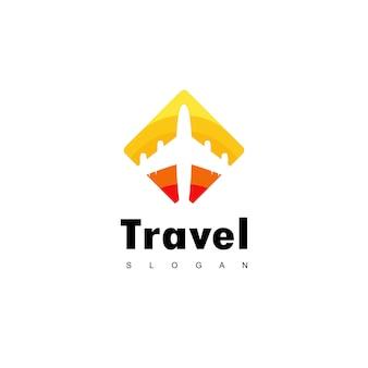 Дизайн логотипа travel
