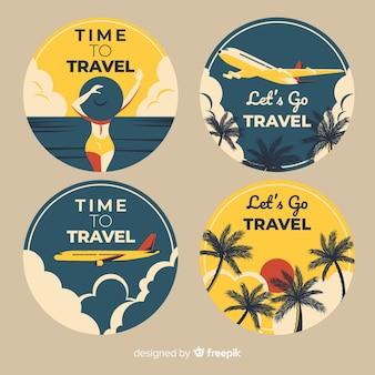 Коллекция этикеток travel