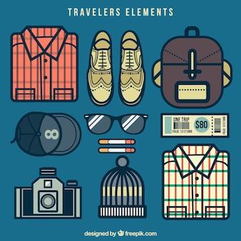 여행자 요소 팩