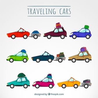 Коллекция путешествия автомобили
