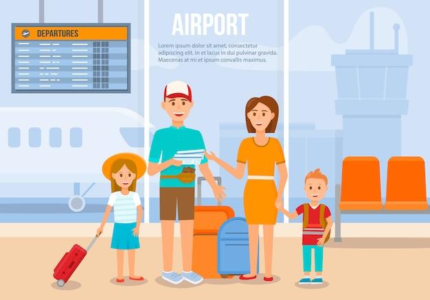 Путешествие семьи на отдыхе