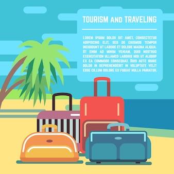 Traveling planning banner