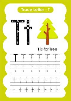 Практический рабочий лист по рисованию и рисованию tre trace для детей