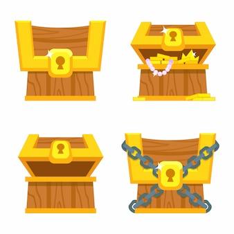 게임을위한 보물 상자.