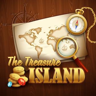 Treasure island.