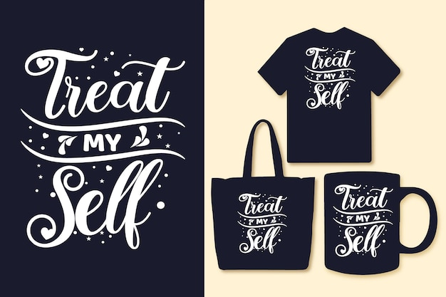 私の自己タイポグラフィの引用を扱うtシャツと商品