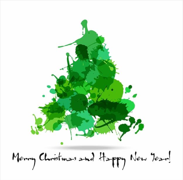 Tree blots christmas decoration