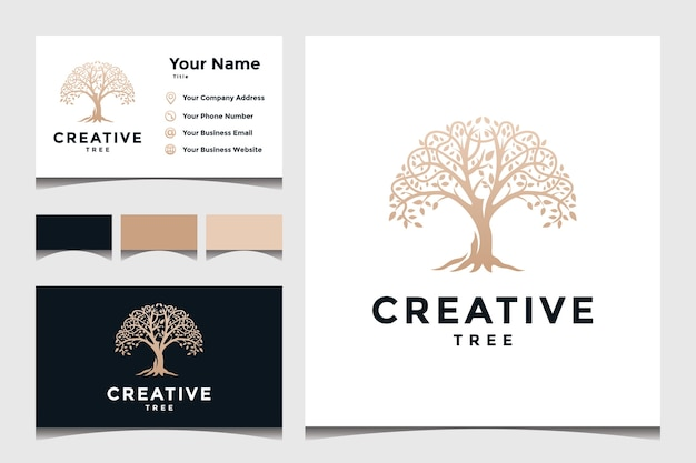 Tree concept for a business logo