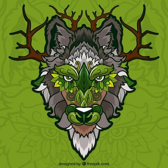나무 민족 늑대