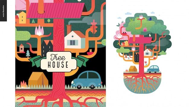 Tree house concept
