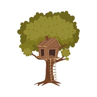 Tree house icon