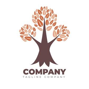 Tree life company logo template