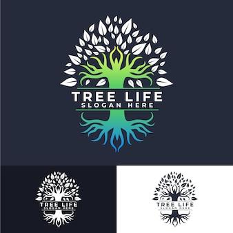 Tree life logo