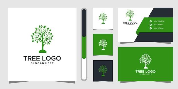 나무 로고 디자인 및 명함.