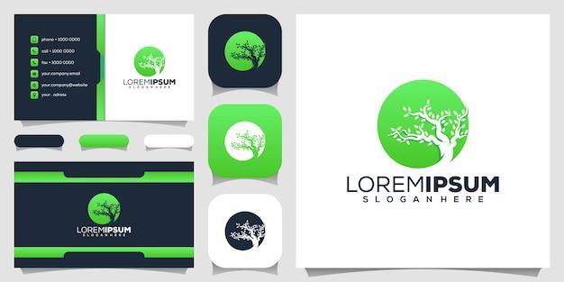 Дизайн логотипа дерева