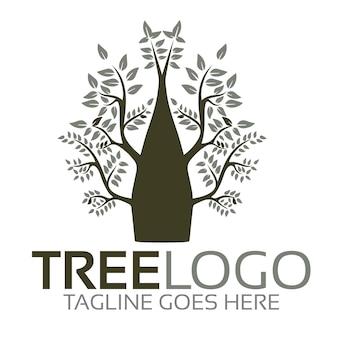 Логотип дерево