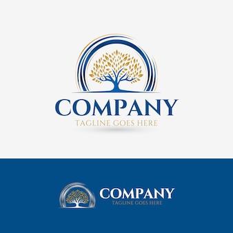 Tree luxury logo