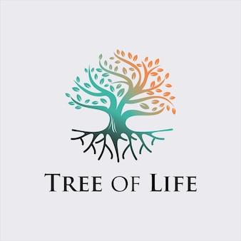 Дерево жизни природа векторный графический дизайн иллюстрация элемент