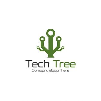 Tree technology logotype