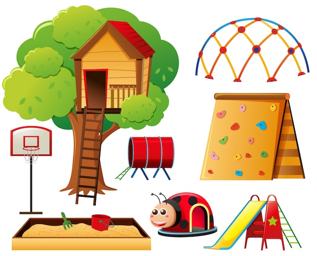Treehouse and other play stations