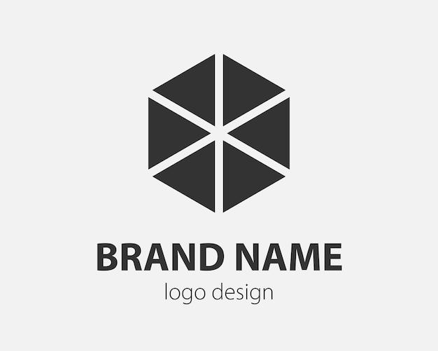트렌드 로고 육각형 기술 디자인. 스마트 시스템, 네트워크 응용 프로그램에 대한 기술 로고,