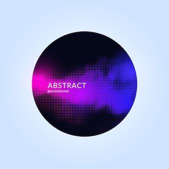 Модный геометрический фон абстрактного искусства с плоским, минималистичным стилем. векторный плакат с элементами дизайна