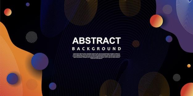 Модный абстрактный фон абстрактный векторные иллюстрации с темными цветами